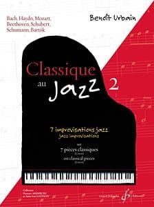 Classique au Jazz - Volume 2 Benoît Urbain Partition laflutedepan