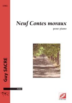 9 Contes moraux Guy Sacre Partition Piano - laflutedepan