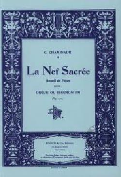 La Nef Sacrée Opus 171 Cécile Chaminade Partition Orgue - laflutedepan