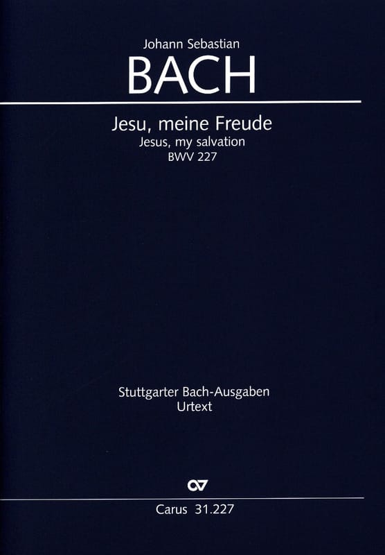 Jesu, Meine Freude BWV 227 - BACH - Partition - laflutedepan.com