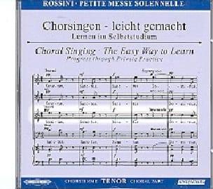 Petite Messe Solennelle. CD Ténor - ROSSINI - laflutedepan.com