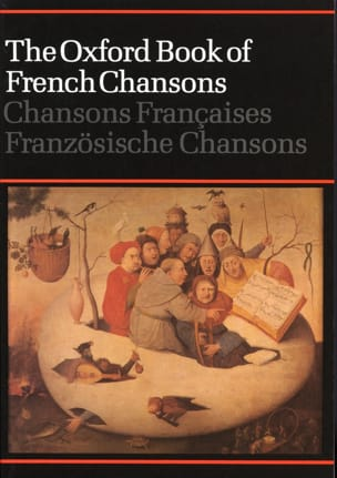 The Oxford Book of French Chansons Partition Chœur - laflutedepan