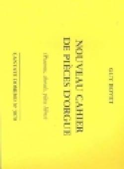 Nouveau Cahier de Pièces D'Orgue Guy Bovet Partition laflutedepan