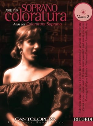 Arie Per Soprano Coloratura Volume 2 Partition Opéras - laflutedepan