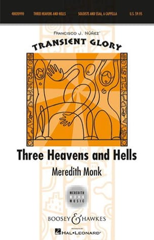 3 Heavens And Hells Meredith Monk Partition Chœur - laflutedepan