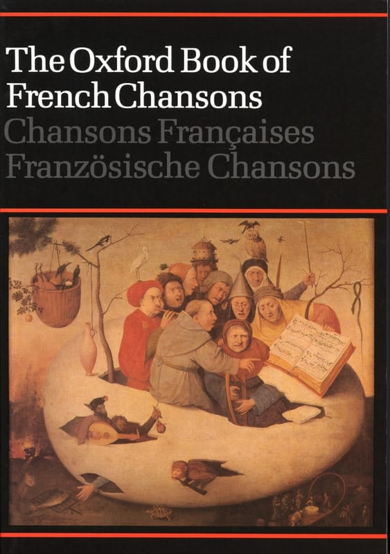 The Oxford Book of French Chansons - Partition - laflutedepan.com