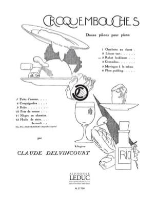 Omelette Au Rhum Claude Delvincourt Partition Piano - laflutedepan