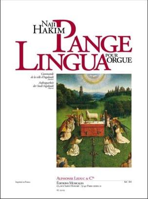 Pange Lingua Naji Hakim Partition Orgue - laflutedepan