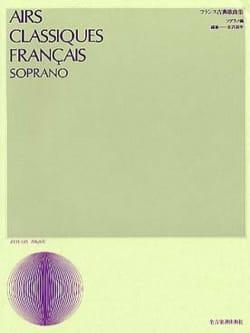 Airs Classiques Français. Soprano Partition Opéras - laflutedepan