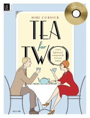 Tea For 2. 4 Mains Mike Cornick Partition Piano - laflutedepan