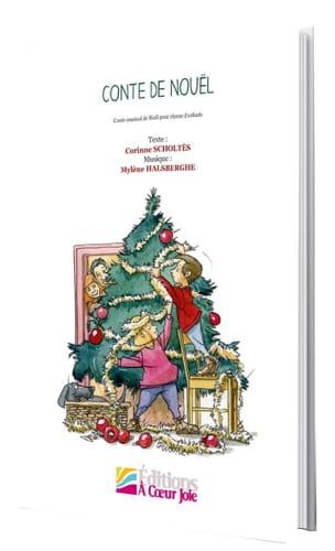 Conte de Nouël Mylène Halsberghe Partition Pour enfants - laflutedepan
