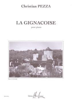 La Gignacoise Pezza Partition Piano - laflutedepan