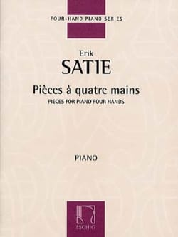 Pièces A 4 Mains SATIE Partition Piano - laflutedepan
