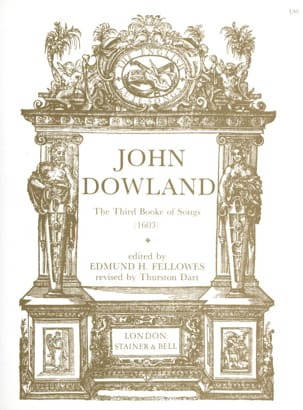 The 3rd Book Of Songs DOWLAND Partition Luth - laflutedepan