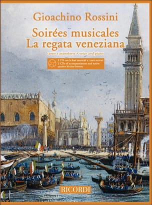Soirées Musicales / Regata Veneziana + 2 CD ROSSINI laflutedepan