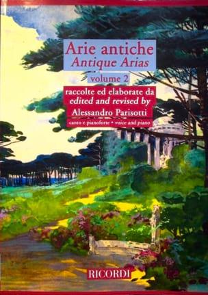 Arie Antiche Volume 2 Alessandro Parisotti Partition laflutedepan