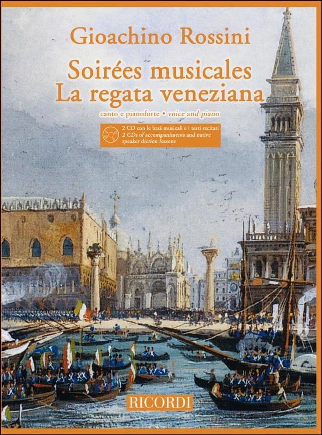 Soirées Musicales / Regata Veneziana + 2 CD - laflutedepan.com