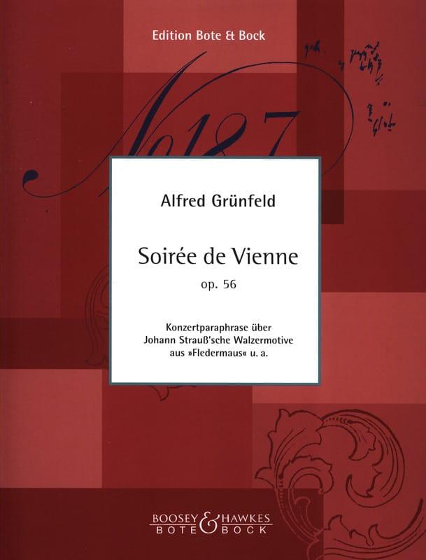 Soirée de Vienne op. 56, paraphrase de Johann Strauss - laflutedepan.com