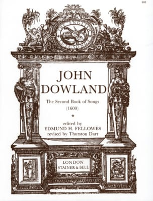 The 2nd Book Of Songs DOWLAND Partition Luth - laflutedepan