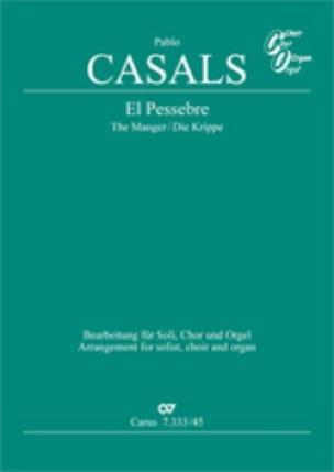 El Pessebre - Pablo Casals - Partition - Chœur - laflutedepan.com