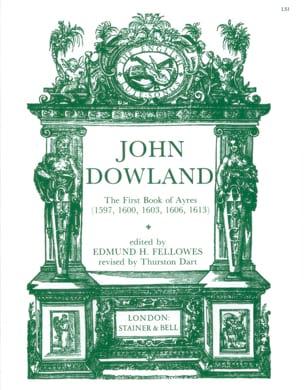 The 1st Book Of Ayres 1597,1600,1606,1613 DOWLAND laflutedepan