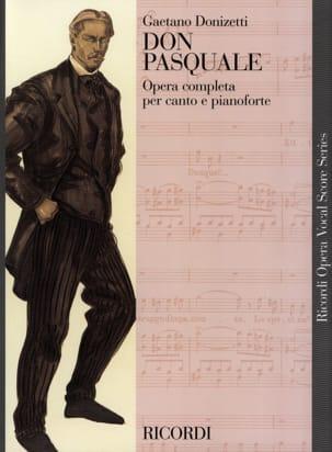 Don Pasquale. DONIZETTI Partition Opéras - laflutedepan