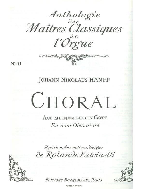 Choral : Auf Meinen Lieben Gott - laflutedepan.com