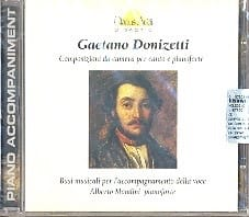 Composizioni Da Camera. CD DONIZETTI Partition Mélodies - laflutedepan