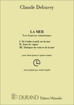 La Mer. 2 pianos DEBUSSY Partition Piano - laflutedepan