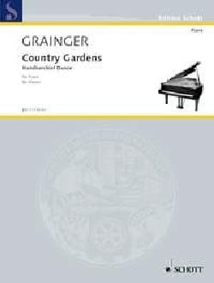 Country Gardens Percy Aldridge Grainger Partition Piano - laflutedepan