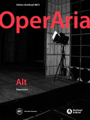 OperAria Alto Partition Opéras - laflutedepan