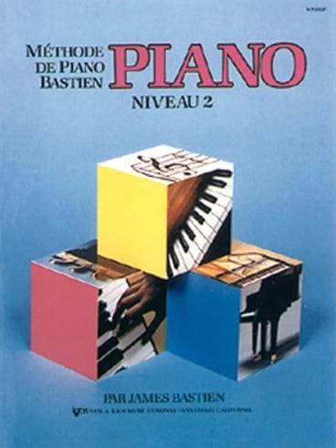 Méthode de Piano Bastien - Niveau 2 - BASTIEN - laflutedepan.com