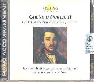 Composizioni Da Camera. CD - DONIZETTI - Partition - laflutedepan.com