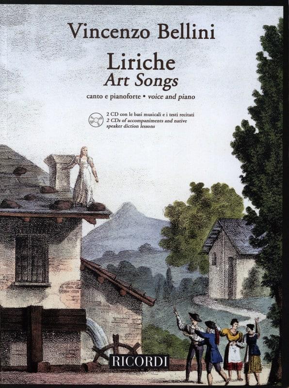 Liriche + 2 CD - BELLINI - Partition - Mélodies - laflutedepan.com