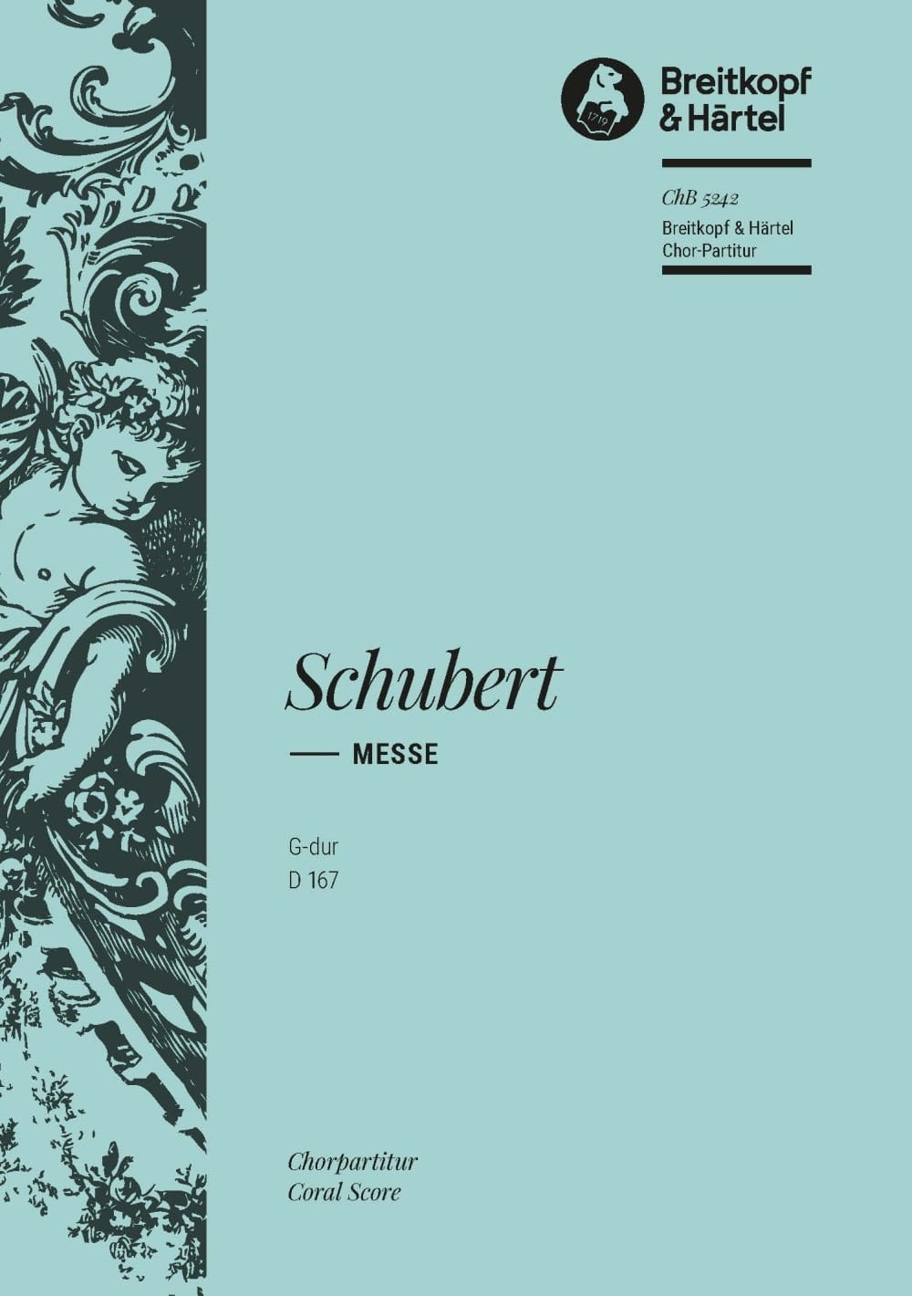 Messe En Sol Majeur D 167 . Choeur - SCHUBERT - laflutedepan.com