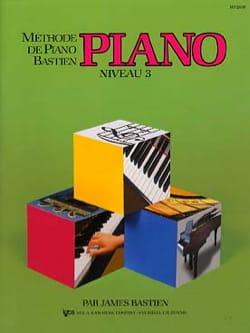 Méthode de Piano Bastien - Niveau 3 BASTIEN Partition laflutedepan