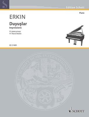 Impressions Ulvi Cemal Erkin Partition Piano - laflutedepan