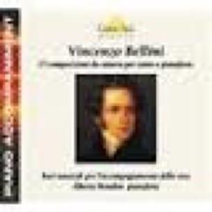 15 Composizioni Da Camera. CD - BELLINI - Partition - laflutedepan.com