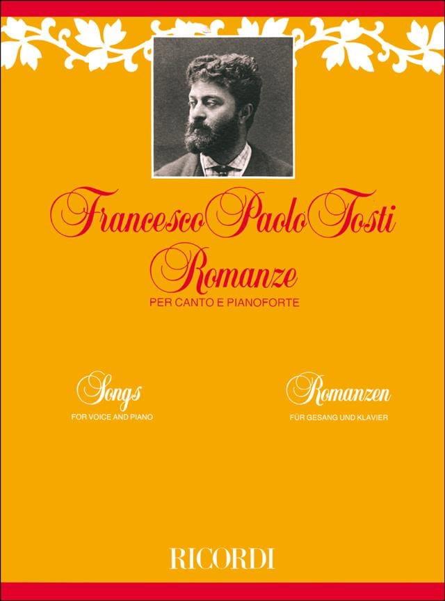 25 Romances - Francesco Paolo Tosti - Partition - laflutedepan.com