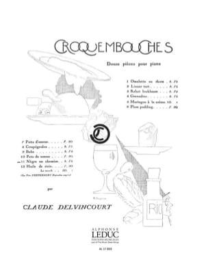 Pets de Nonne Claude Delvincourt Partition Piano - laflutedepan