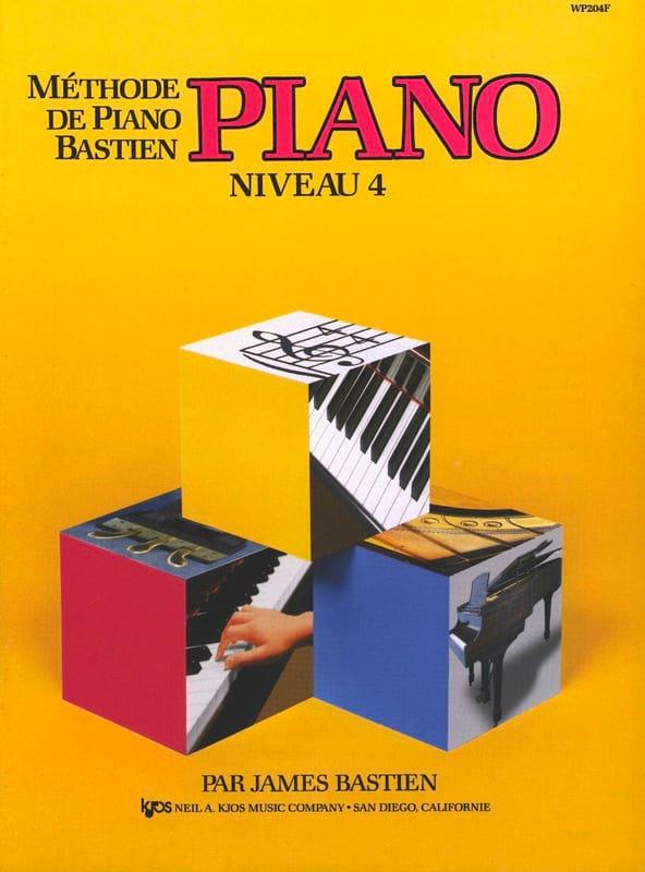 Méthode de Piano Bastien - Niveau 4 - BASTIEN - laflutedepan.com