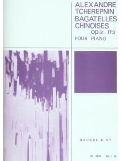 Bagatelles Chinoises Opus 51 N°3 - laflutedepan.com