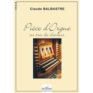 Pièce D'orgue En Trio de Claviers laflutedepan