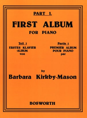 First Album For Piano Part 1 Barbara Kirkby-Mason laflutedepan