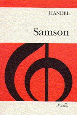 HAENDEL - Samson - Partition - di-arezzo.fr