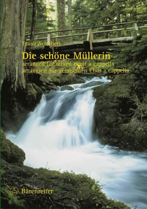 Die Schöne Müllerin. Choeur SCHUBERT Partition Chœur - laflutedepan