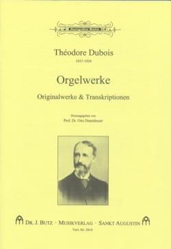 Orgelwerke Théodore Dubois Partition Orgue - laflutedepan