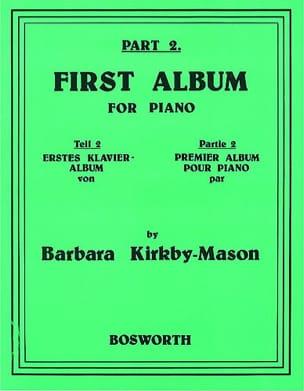 First Album For Piano Part 2 Barbara Kirkby-Mason laflutedepan