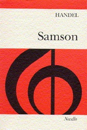Samson - HAENDEL - Partition - Chœur - laflutedepan.com