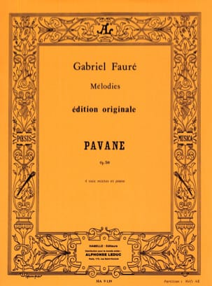 Gabriel Fauré - パヴァーヌ - Partition - di-arezzo.jp